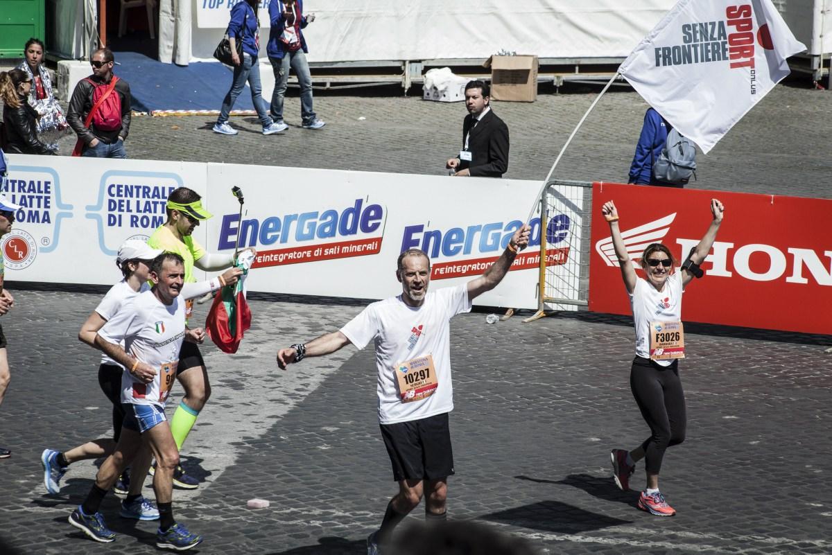 Run For Good Maratona di Roma 2017-Sport Senza Frontiere Onlus