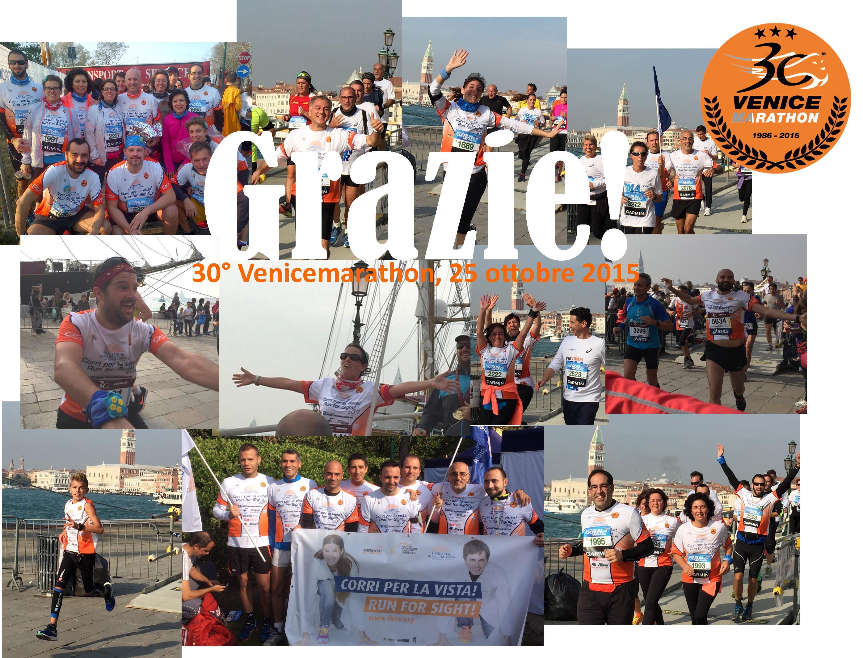 Grazie ai nostri 100 runners!