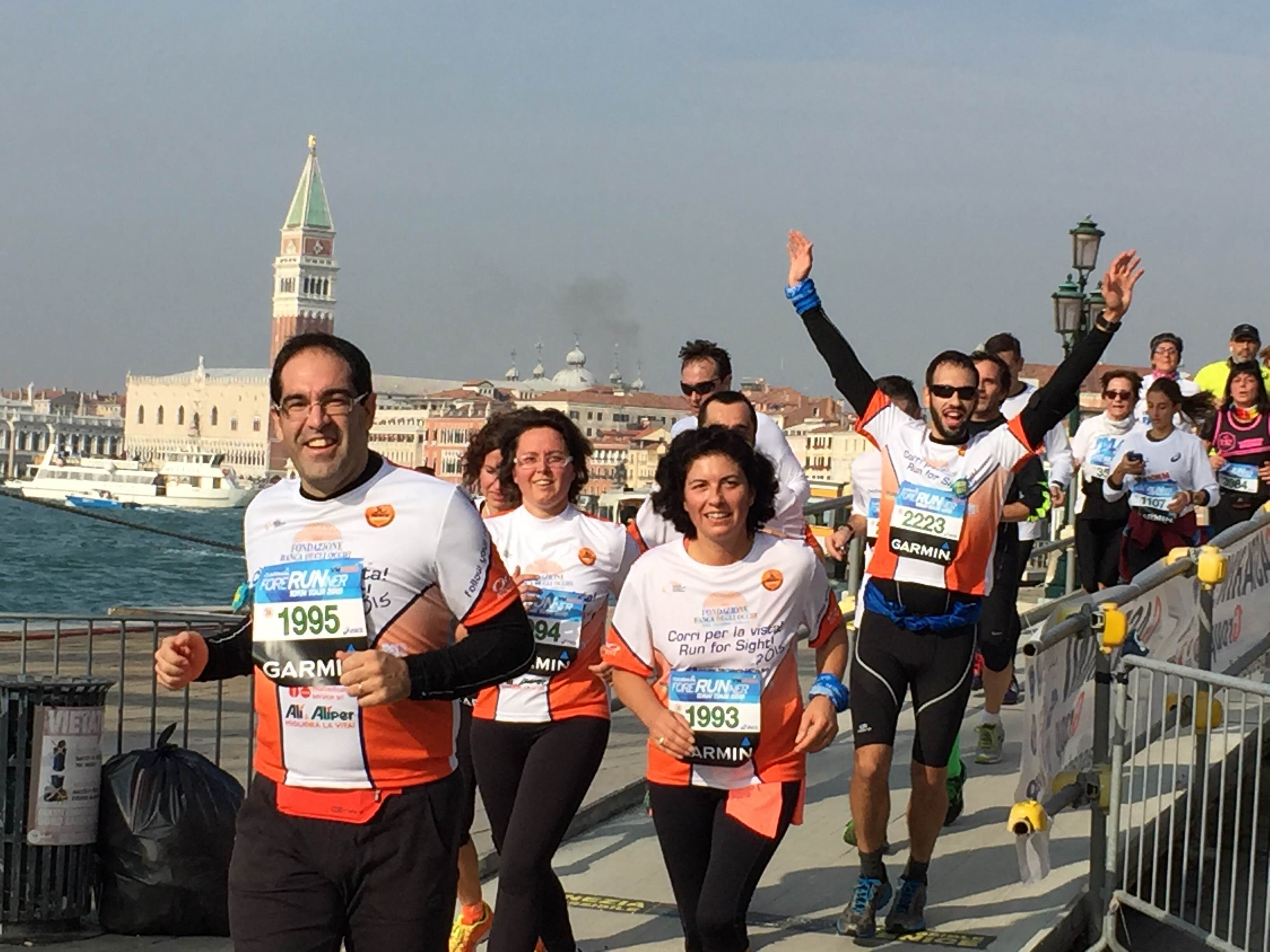 30° Venicemarathon: il traguardo