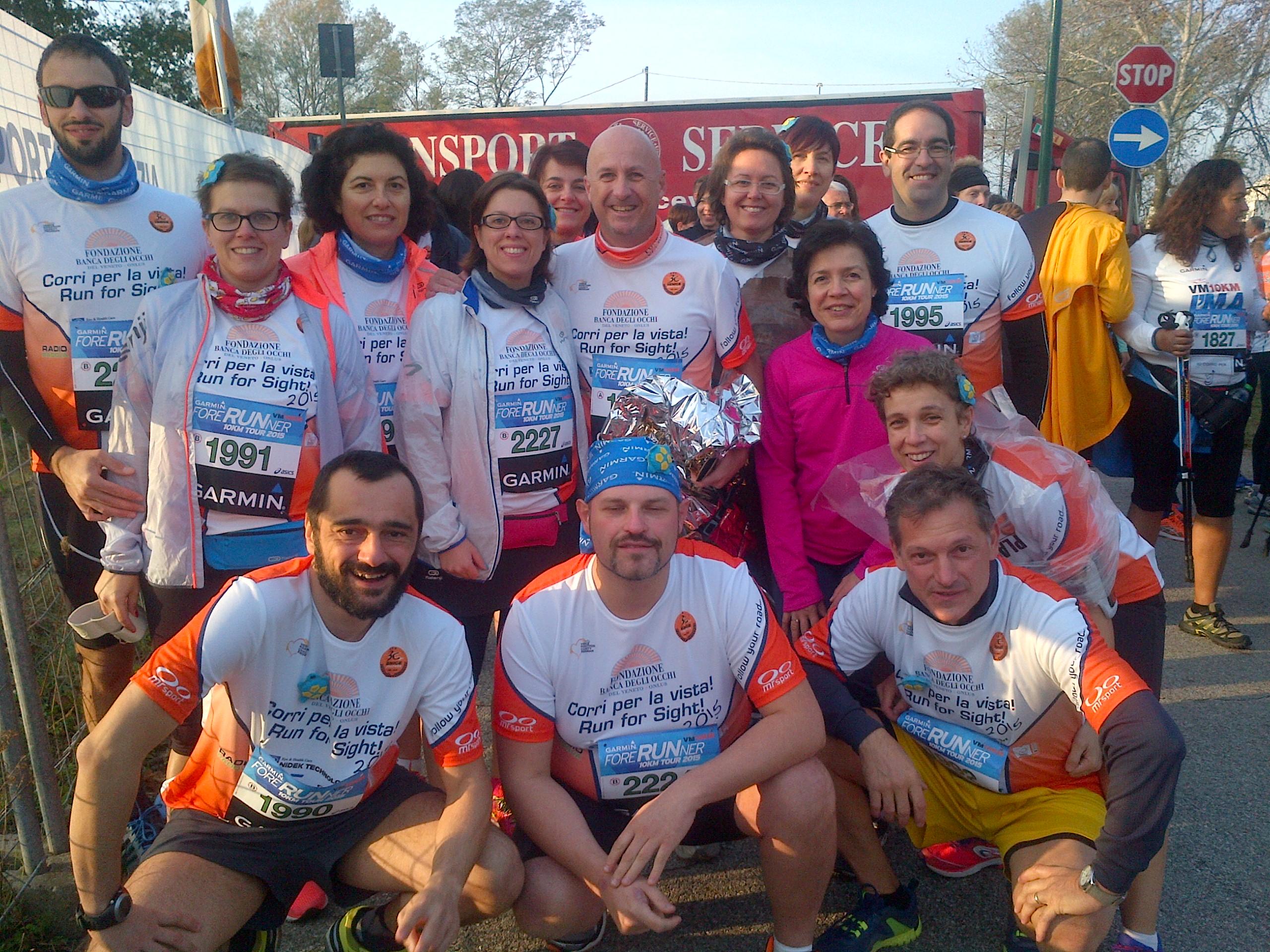 Alla partenza della 30° Venicemarathon!