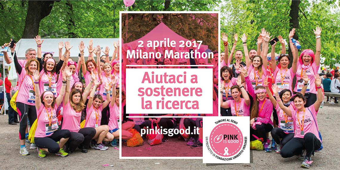 Corri con noi per Pink is Good!!-Fondazione Umberto Veronesi