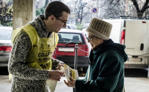 Banco alimentare: la cura dei volontari porta al successo-