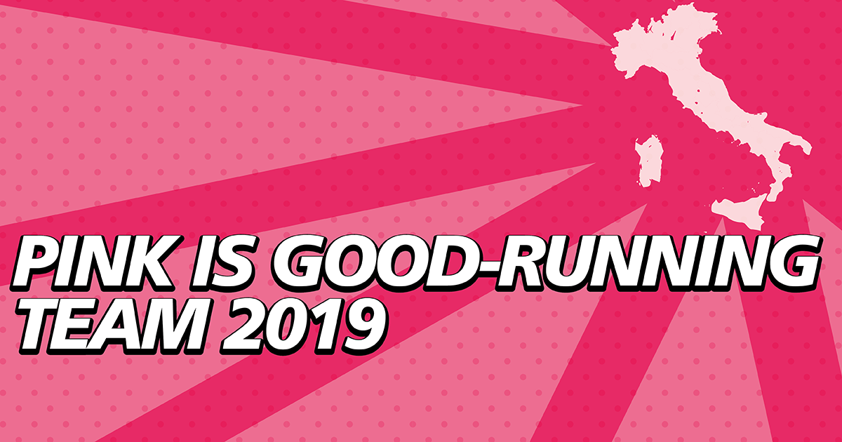 Pink is Good - Running Team 2019-Fondazione Umberto Veronesi