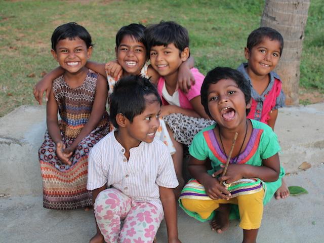 Rete del Dono - Un parco giochi per i bimbi in India