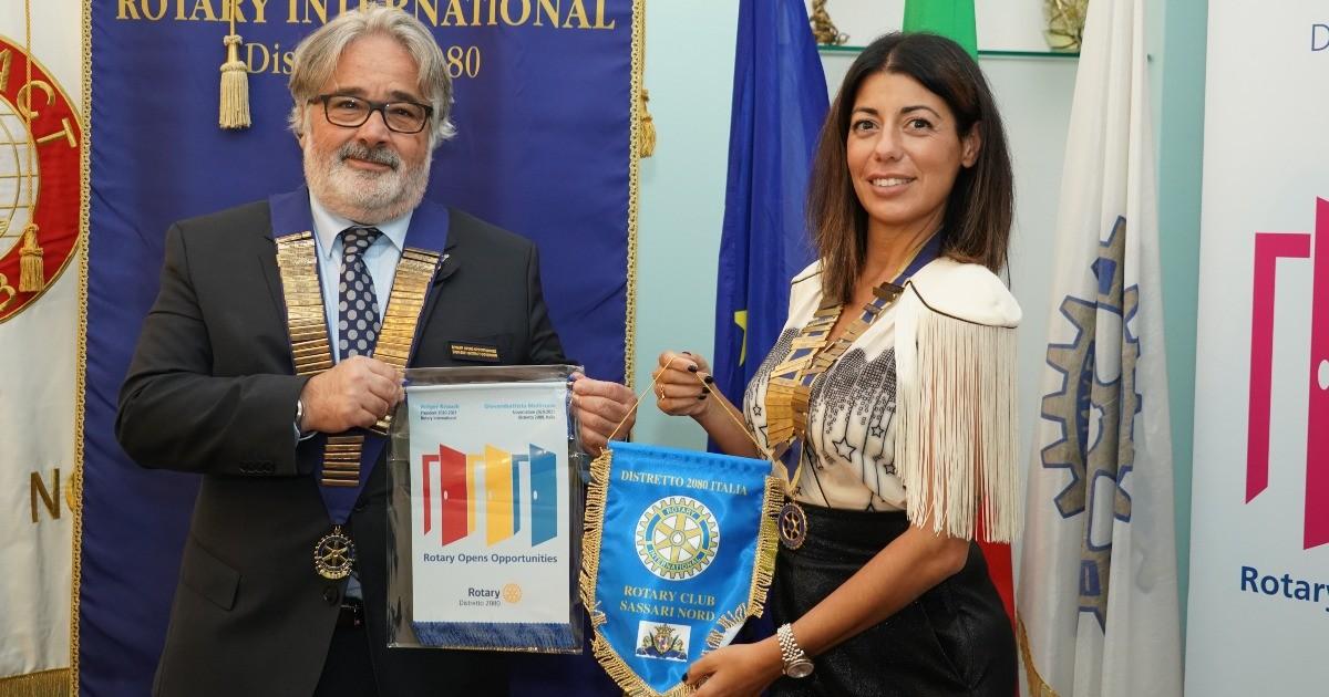Sara Demelas  Rotary Clu Sassari Nord-Sara Demelas