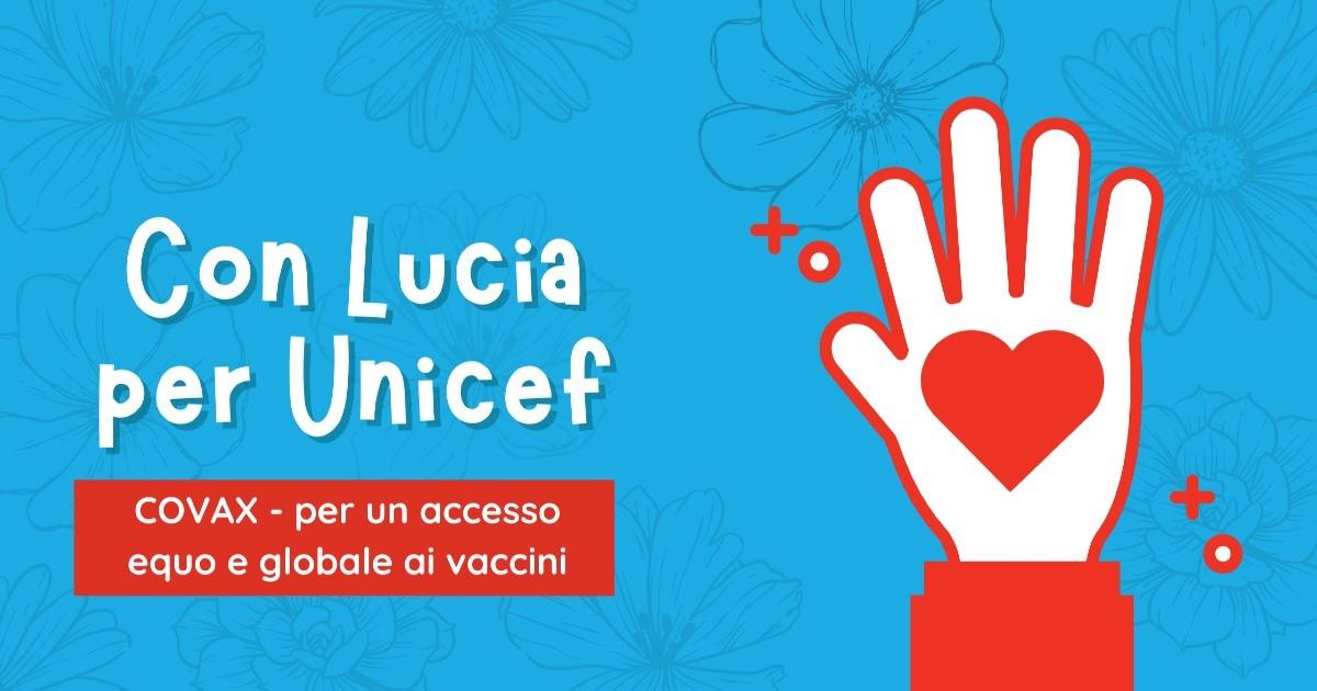Con Lucia per Unicef-Lucia Medici