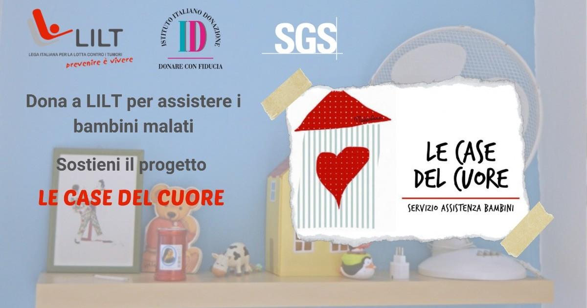 SGS per LILT - Dono Day 2021-SGS Italia Spa