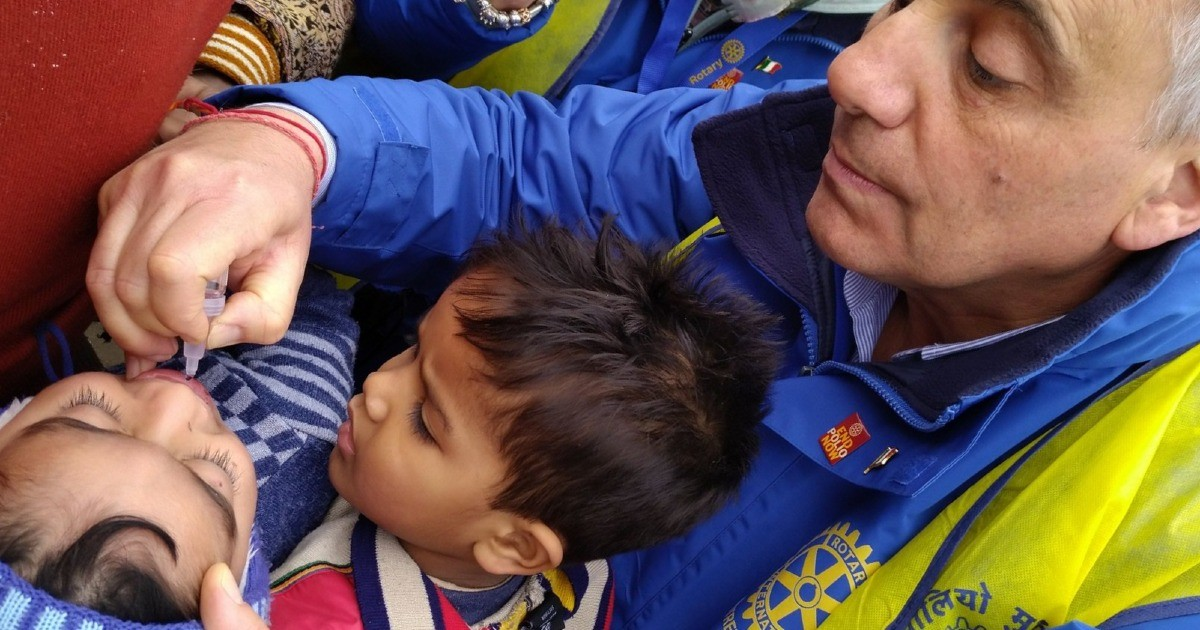 Carlo, R.C. Fiuggi per End Polio Now-Carlo Severa
