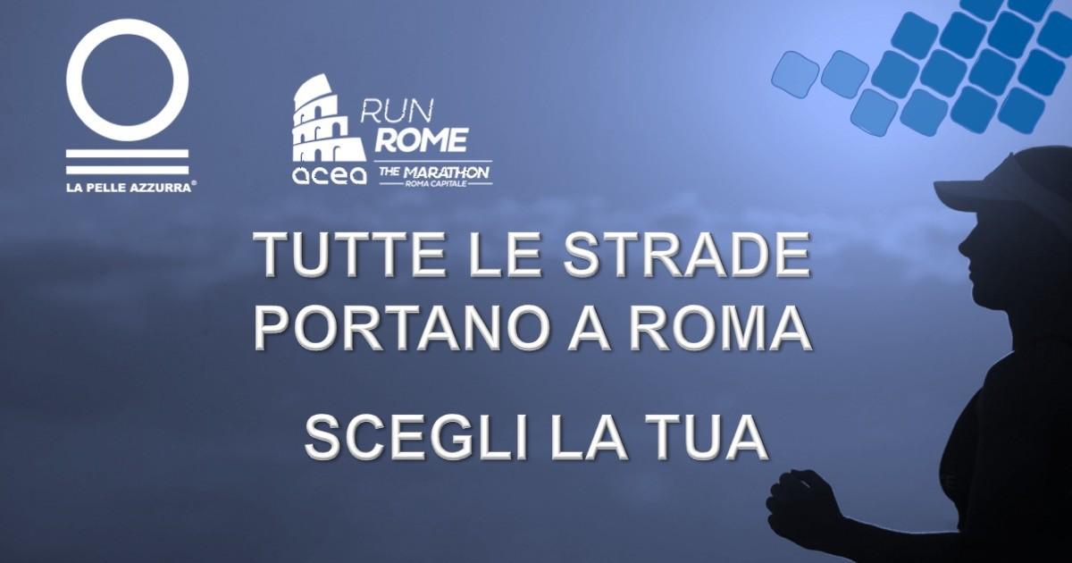 Rete del Dono - Colora di azzurro la Run Rome Marathon