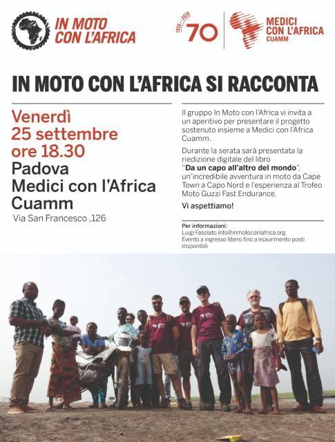 Rete del Dono - IN PISTA CON L'AFRICA