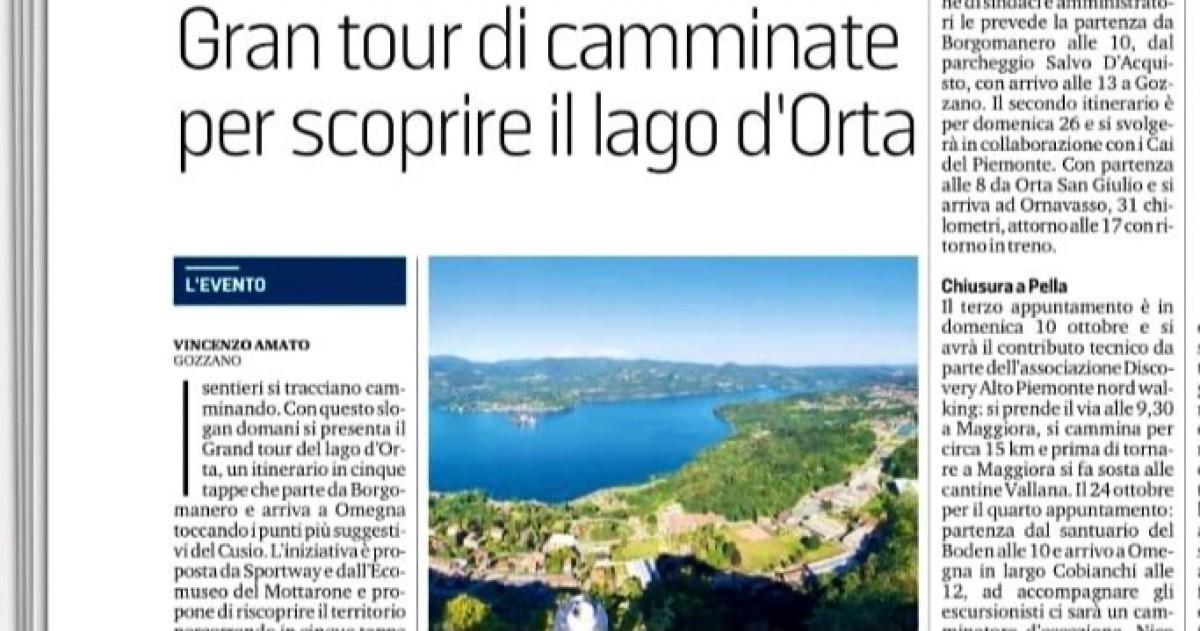 Rete del Dono - Grand Tour del Lago D'Orta