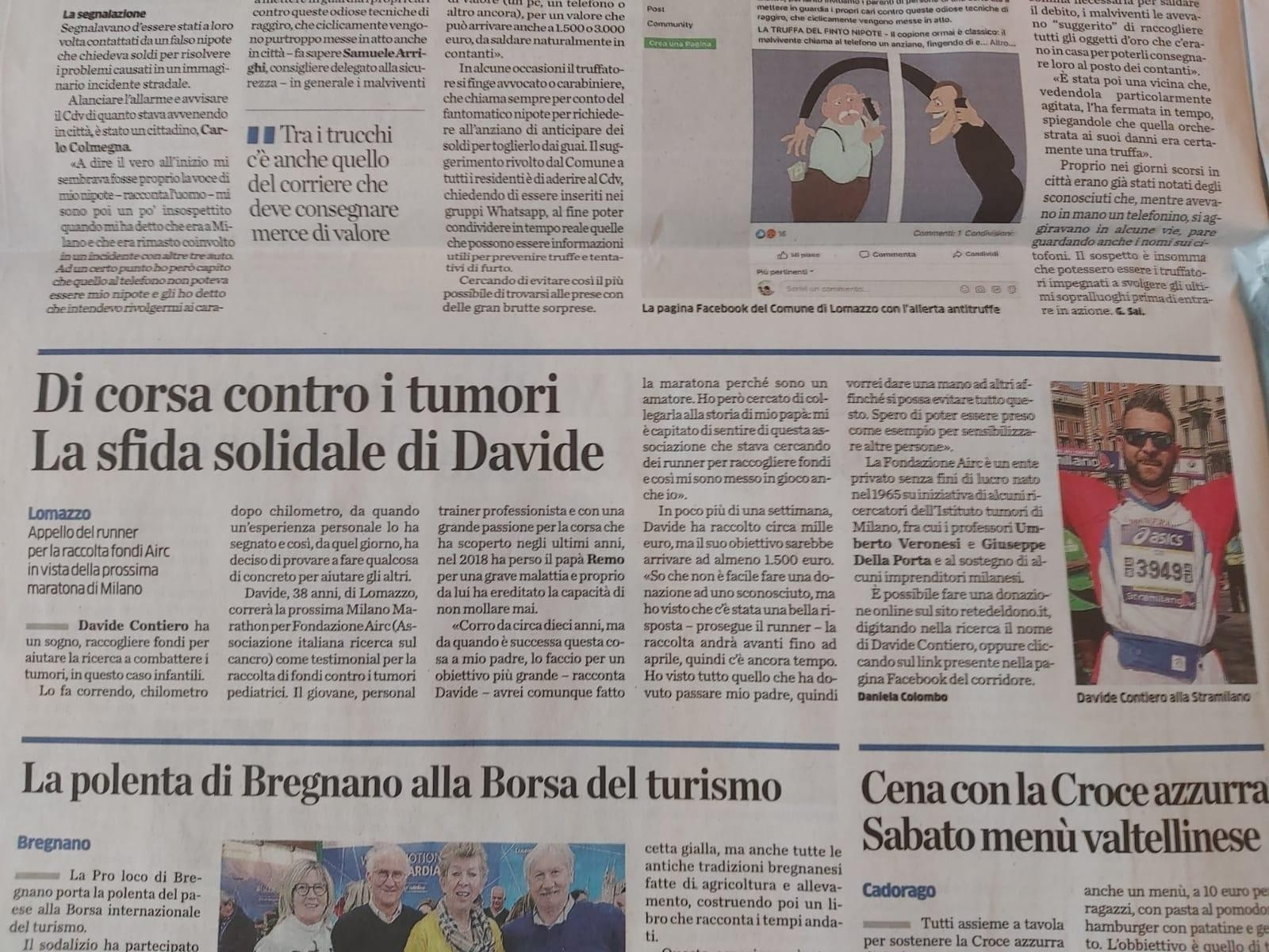 Rete del Dono - Davide Contiero