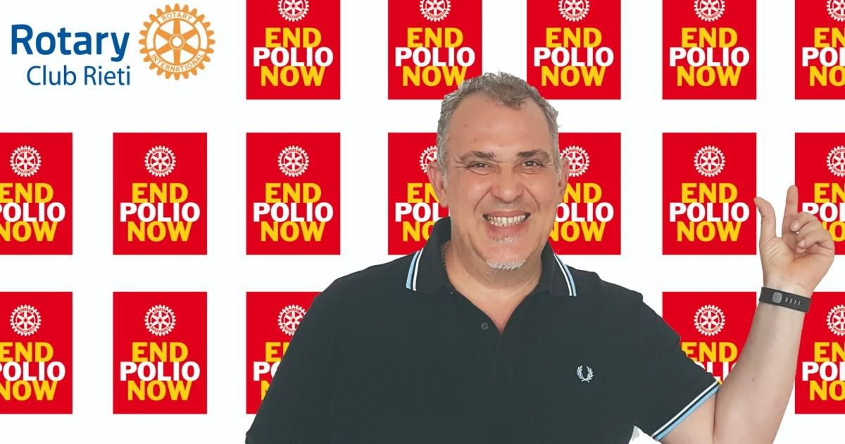 Francesco per RC Rieti - End Polio Now-Francesco Maria Palomba