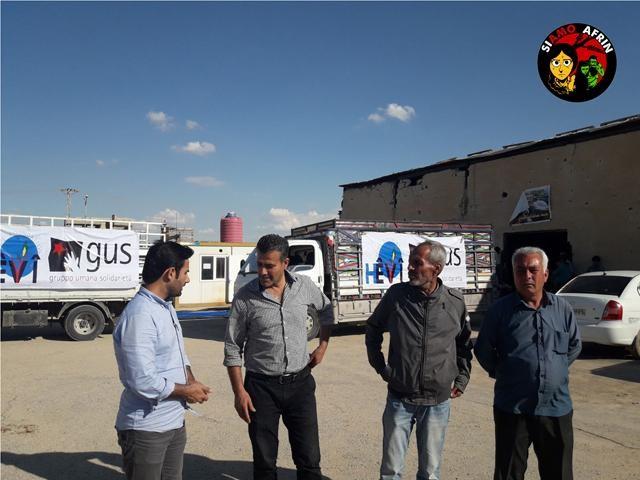 Rete del Dono - SiAmo Afrin - We Are Afrin