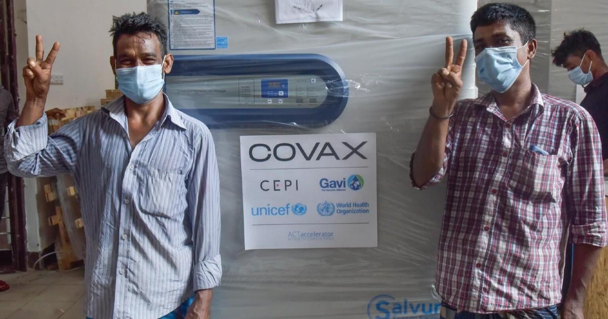 Rete del Dono - UNICEF Un Vaccino anti Covid19 per tutti