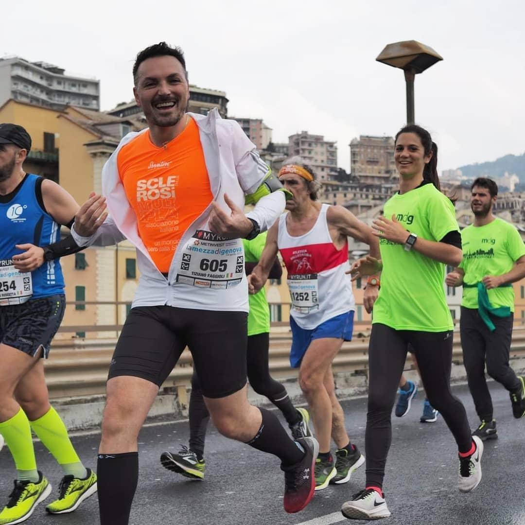 Rete del Dono - La mia prima maratona & AISM