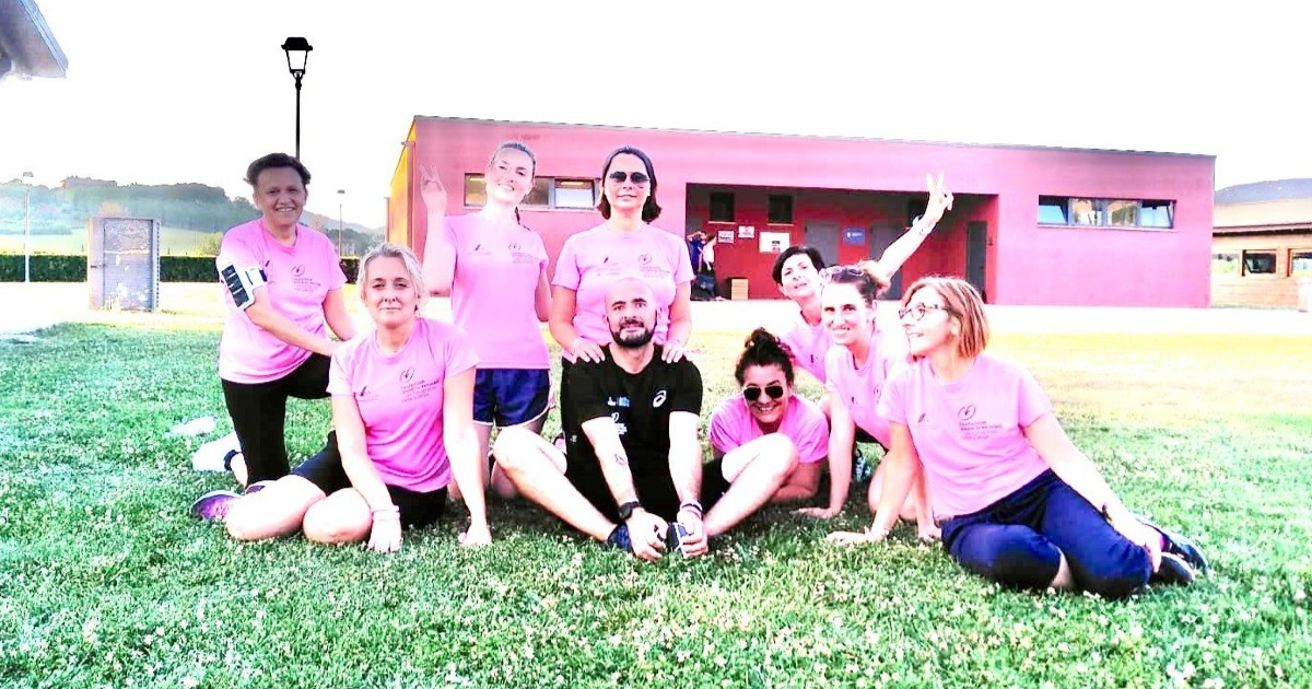 Perugia corre con la ricerca!-Pink is good Perugia runnig team 2020