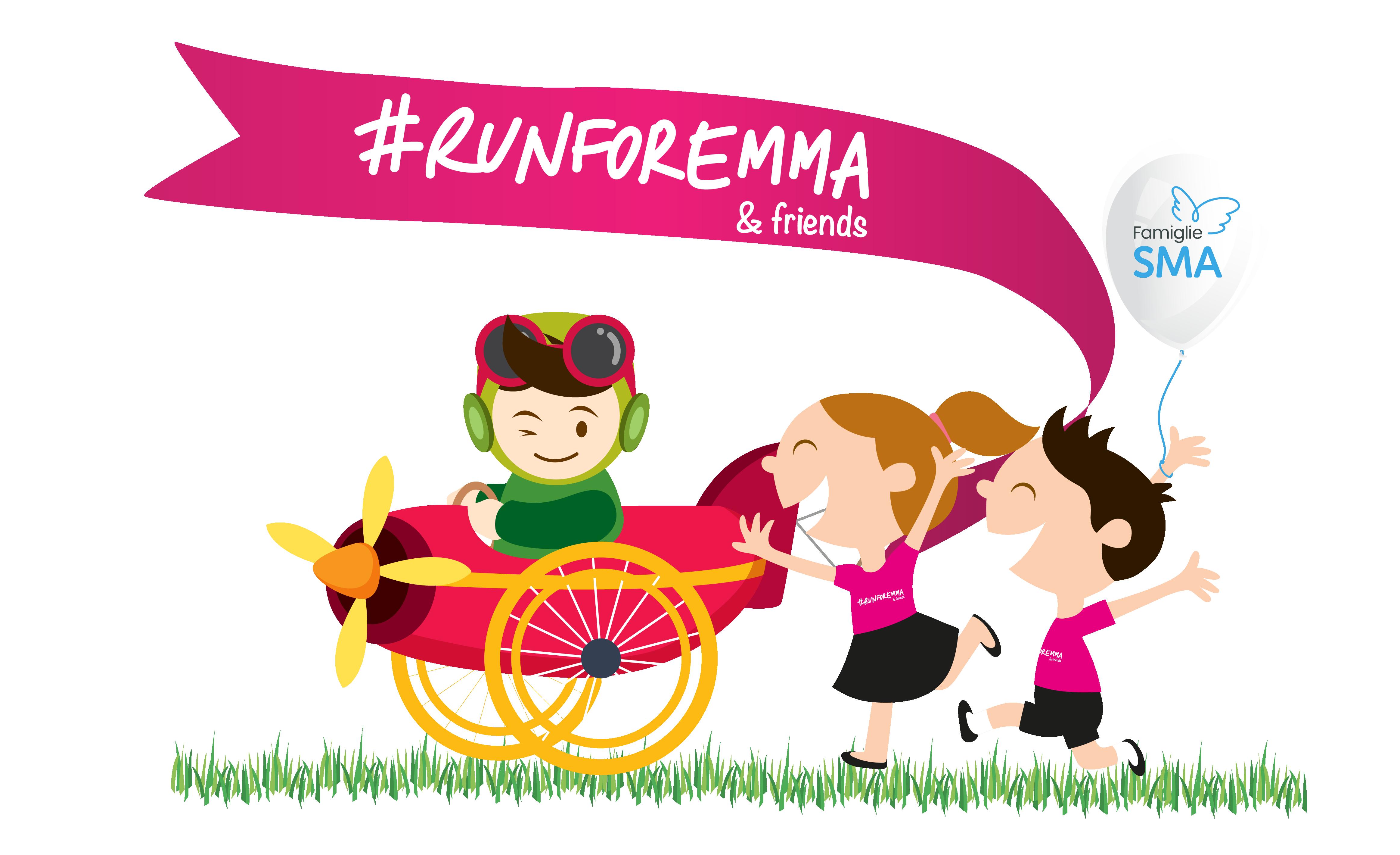 Rete del Dono - #RUNFOREMMA...& friends e Famiglie SMA
