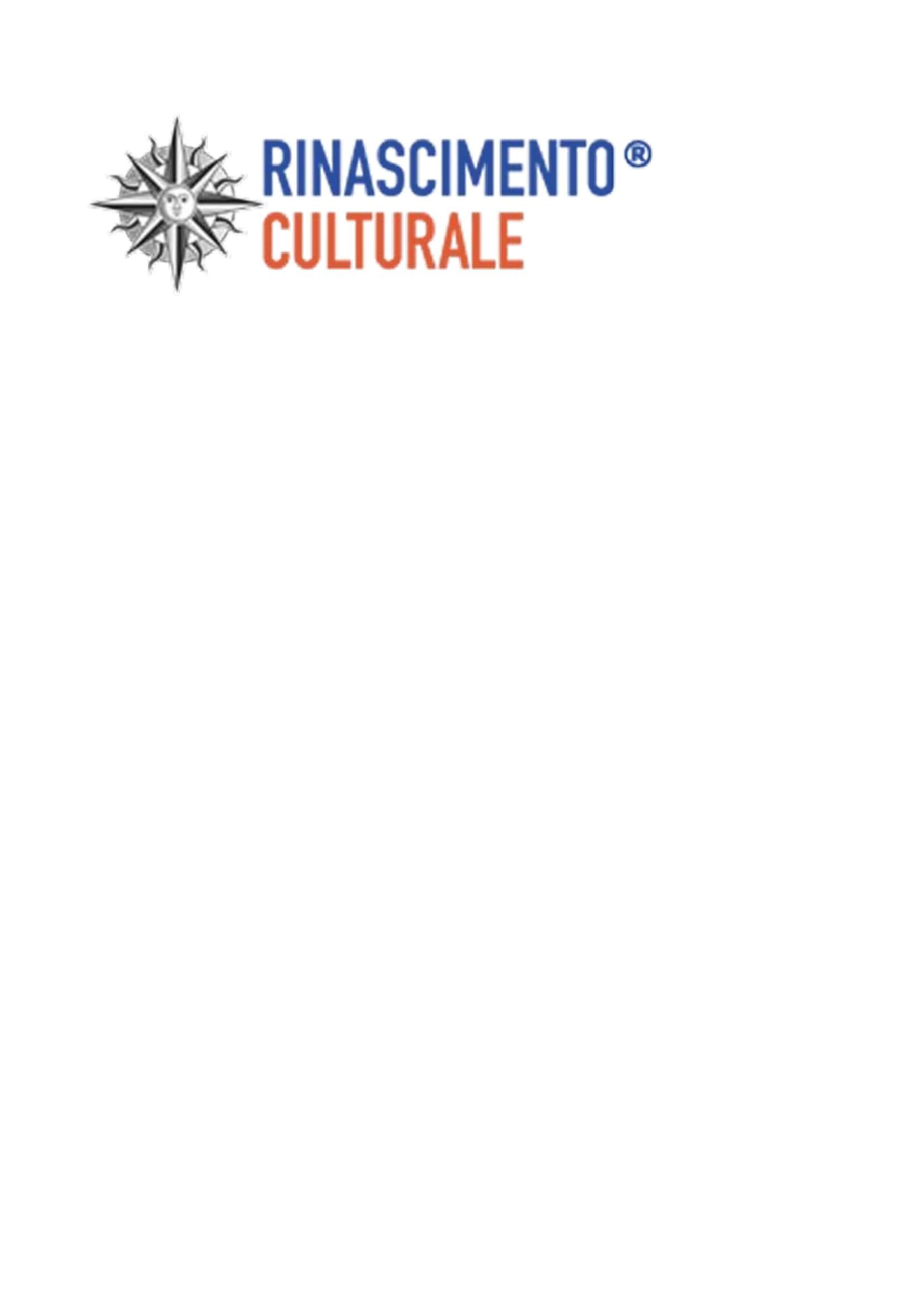 Rete del Dono - Rinascimento Culturale