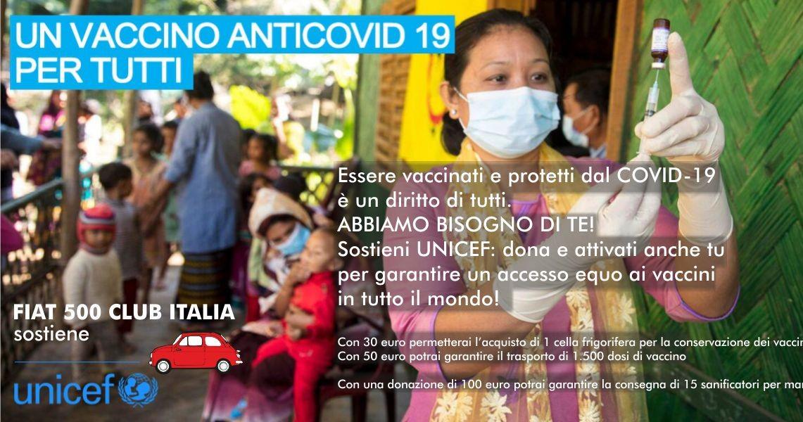 Fiat 500 Club con UNICEF-Fiat Club 500 Italia
