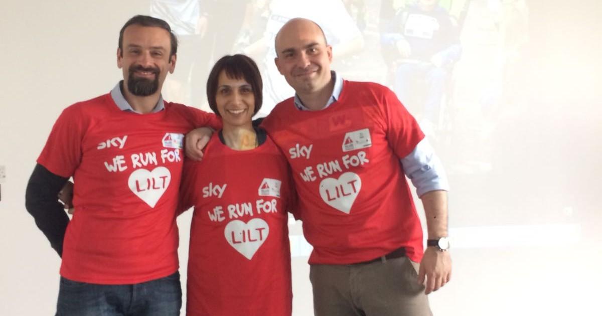 Sky corre per la LILT!-Sky Italia