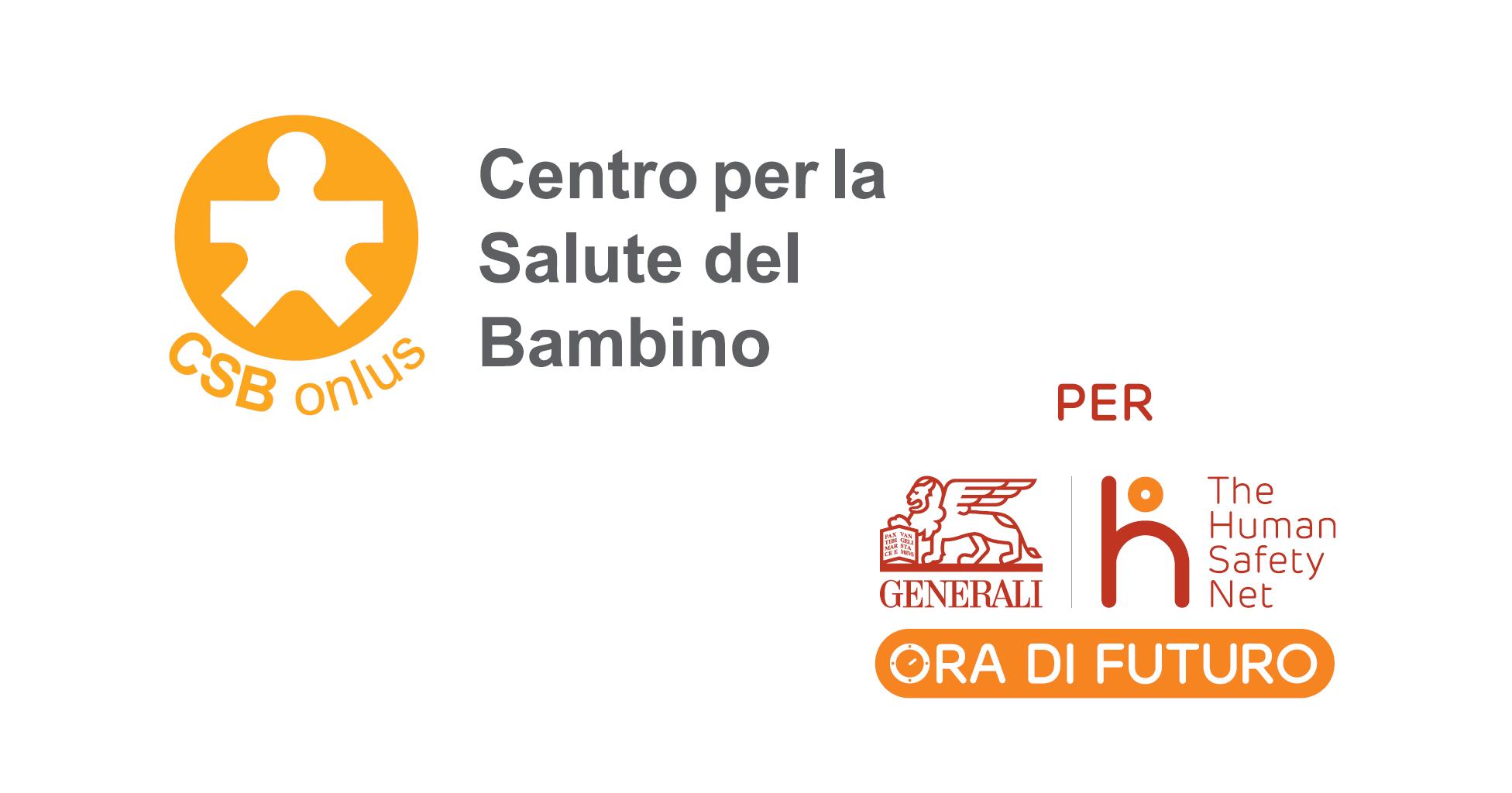 A Trieste è #ORADIFUTURO con CSB-Centro per la Salute del Bambino CSB