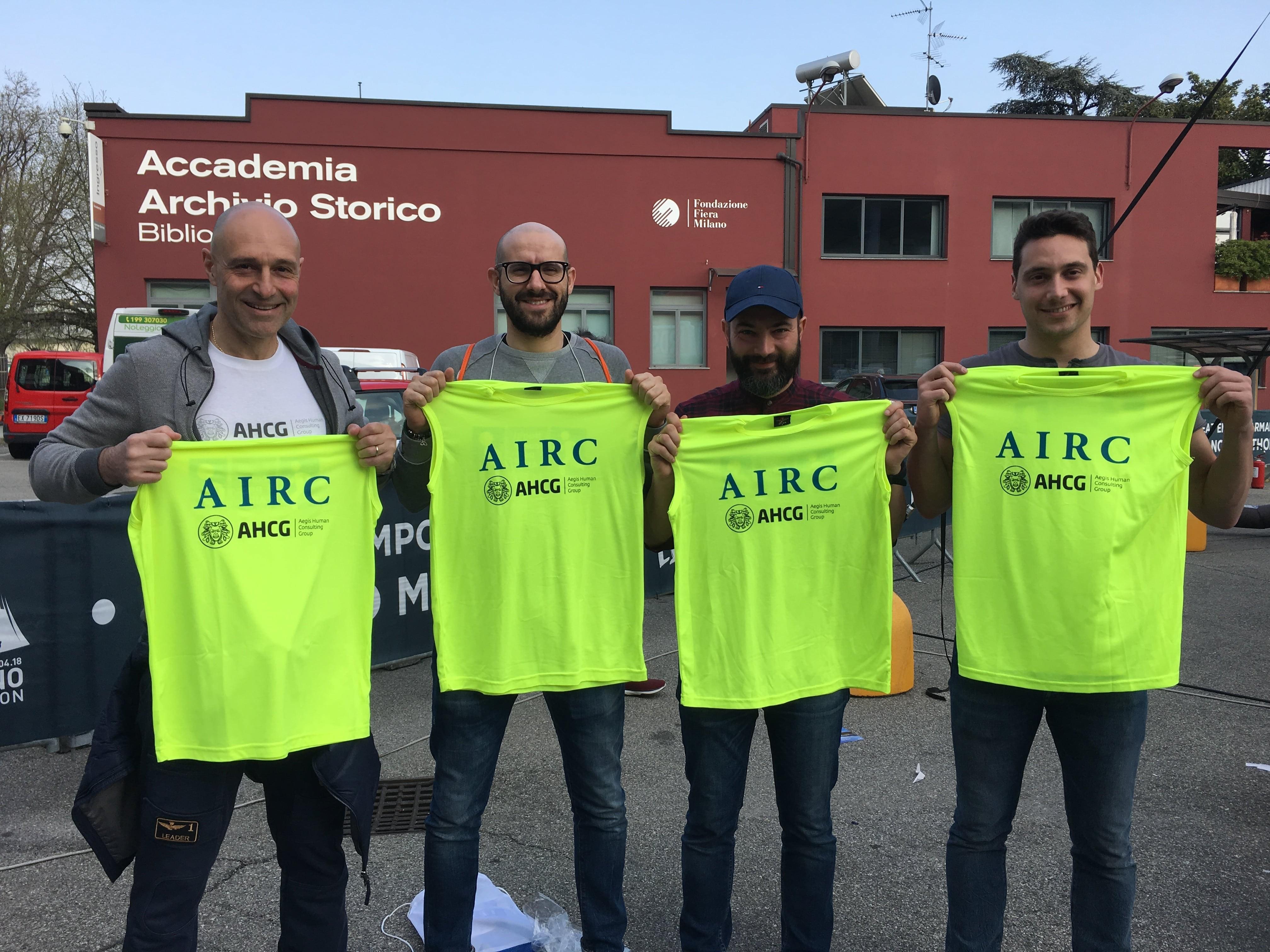 Aegis corre per AIRC-Aegis Human Consulting Group