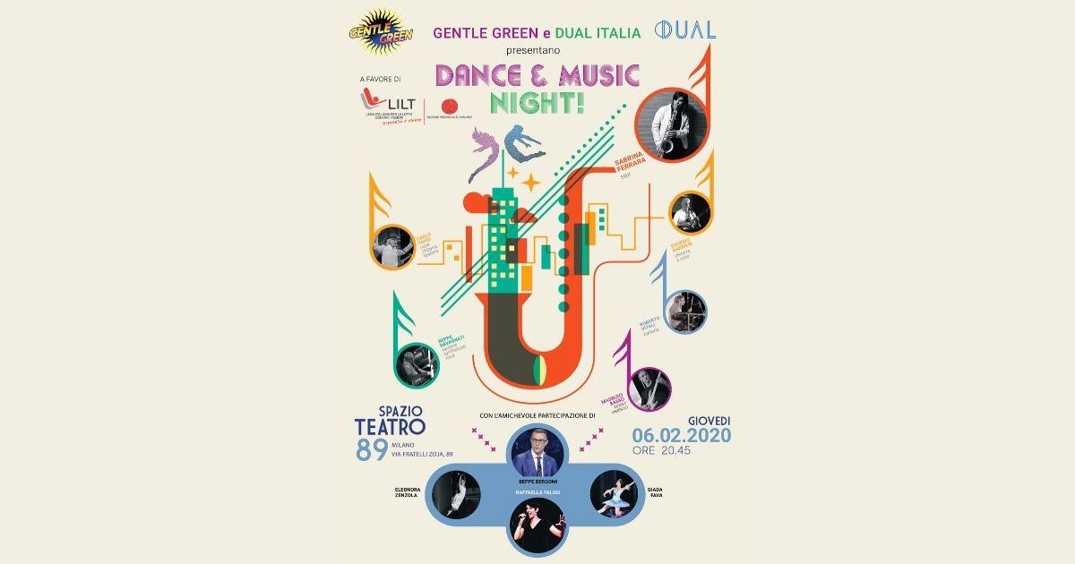 Dance & Music Night per LILT-DUAL Italia S.p.A.