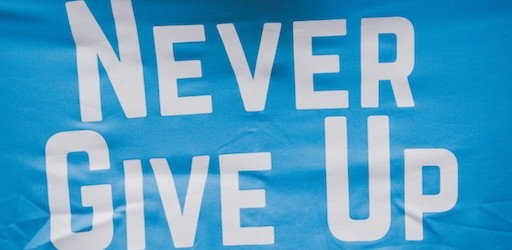 Never Give Up Running per bimbiSma-Never Give Up Running
