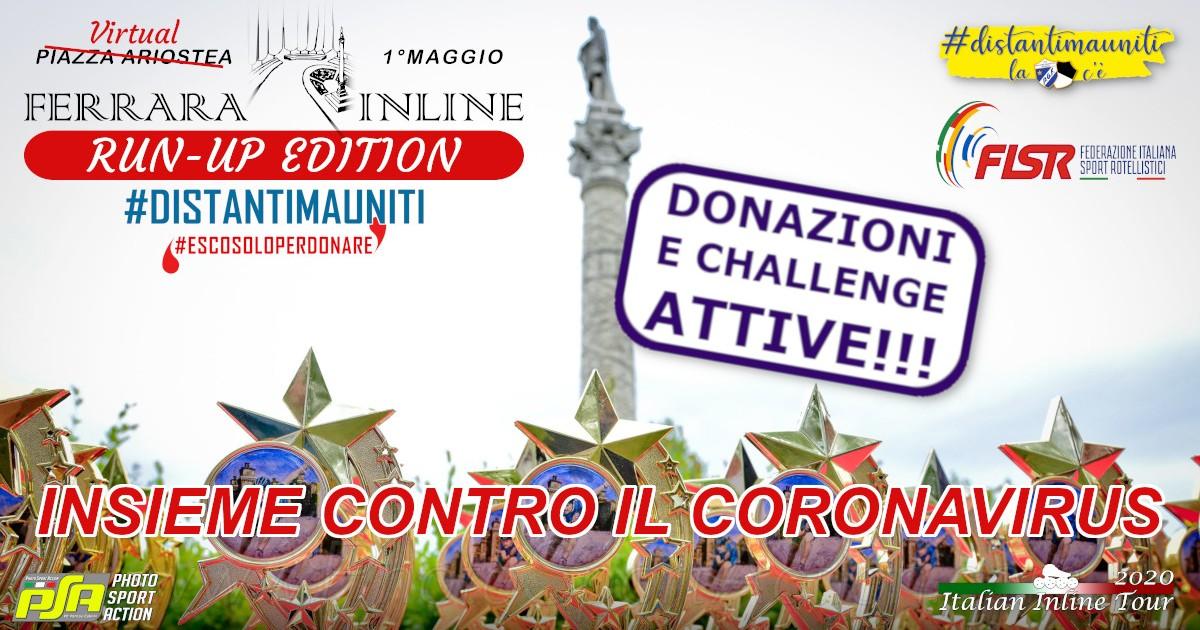 1°maggio Ferrara Inline 2020 - Run-Up-Palestra Ginnastica Ferrara a.s.d.