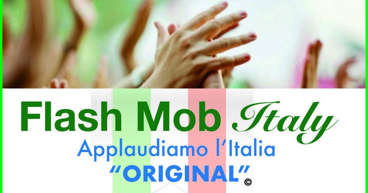 Sosteniamo Croce Rossa Italiana!-Flash Mob Italy Applaudiamo l'Italia Original