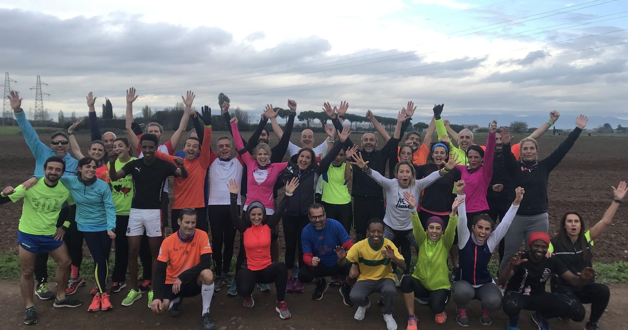 Corriamo Roma per Sport Senza Frontiere-Gruppo Bancario Cooperativo Iccrea