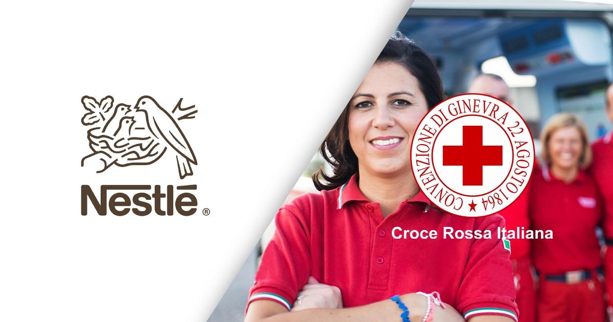 Uniti per Croce Rossa Italiana!-Nestlé Italiana