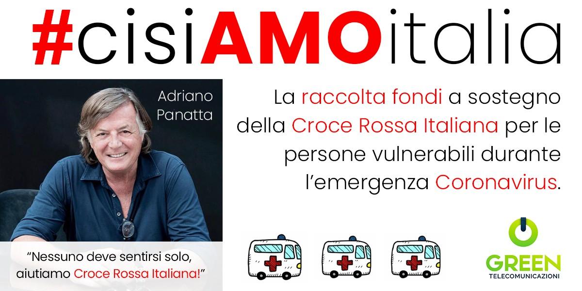 Sosteniamo la Croce Rossa Italiana!-Green Telecomunicazioni SpA