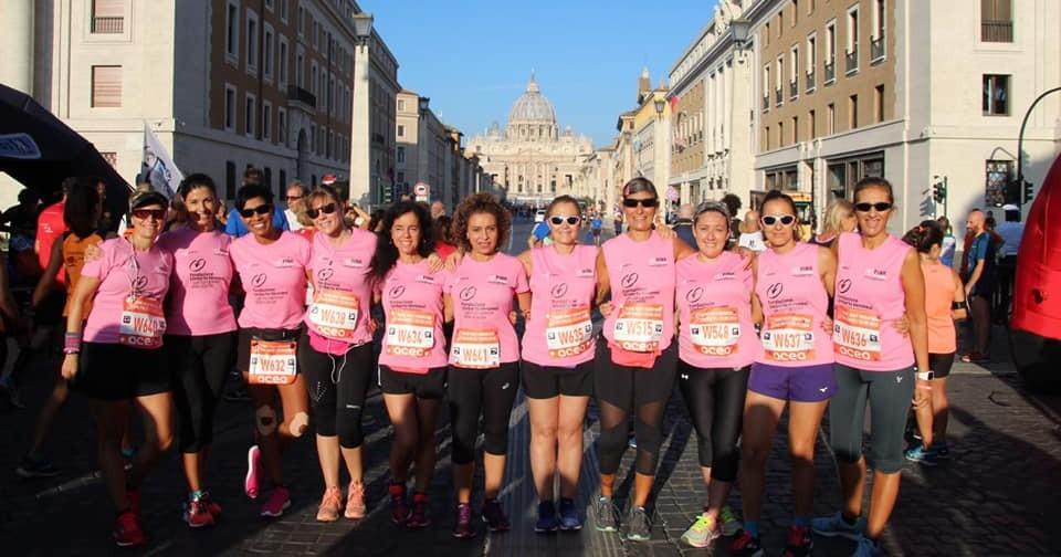 Run with Pink Ambassador Roma 2018-Pink Runner  Roma 2018
