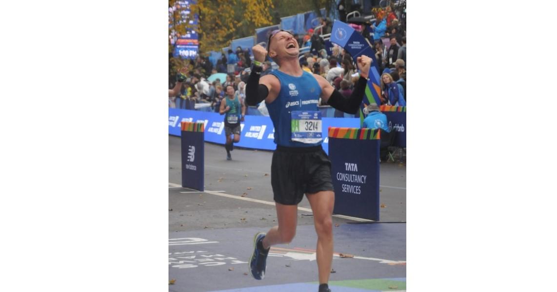 RC Roma Olympic per Run for Polio-Stefano conforto sertorelli