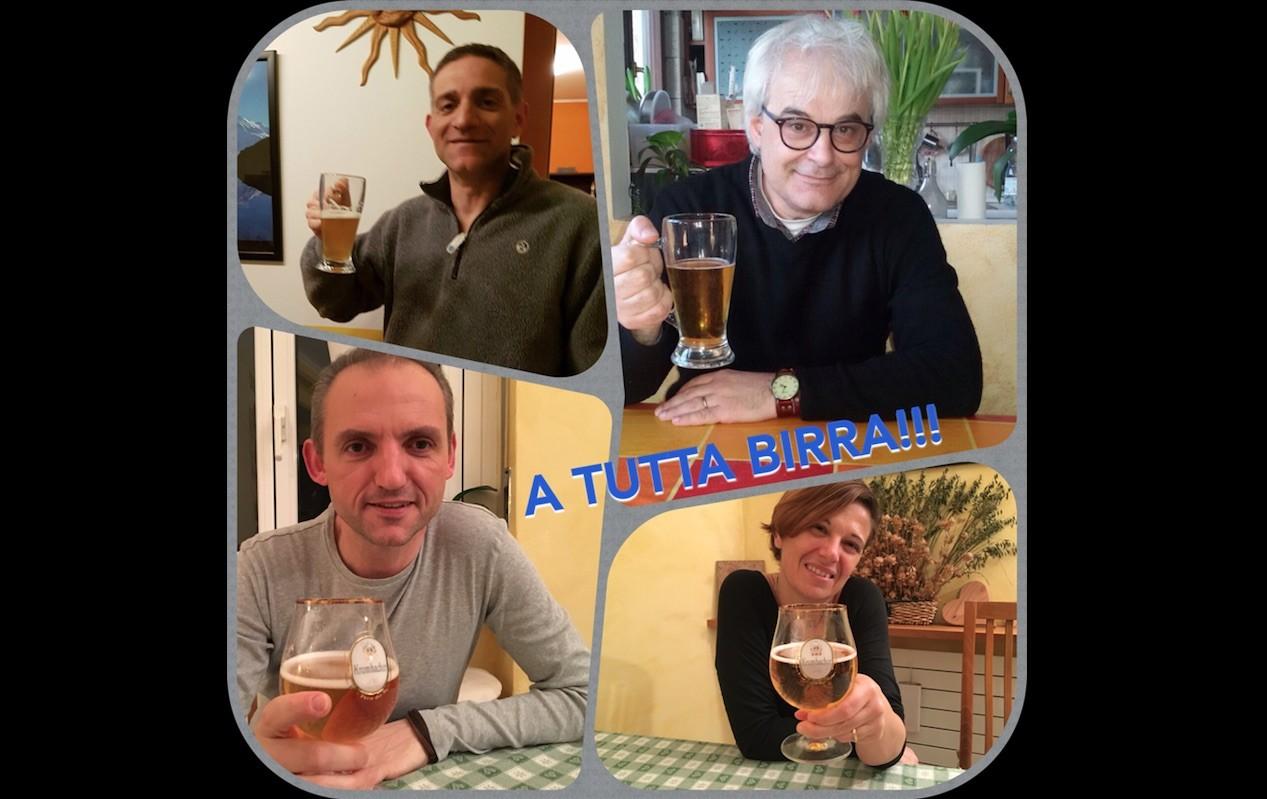 A tutta birra-Cristiana, Luca,  Giuseppe e Matteo