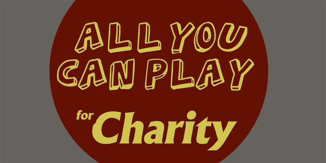 ANCHE GIOCANDO SI PUO' GUARIRE!-All You Can Play  For Charity