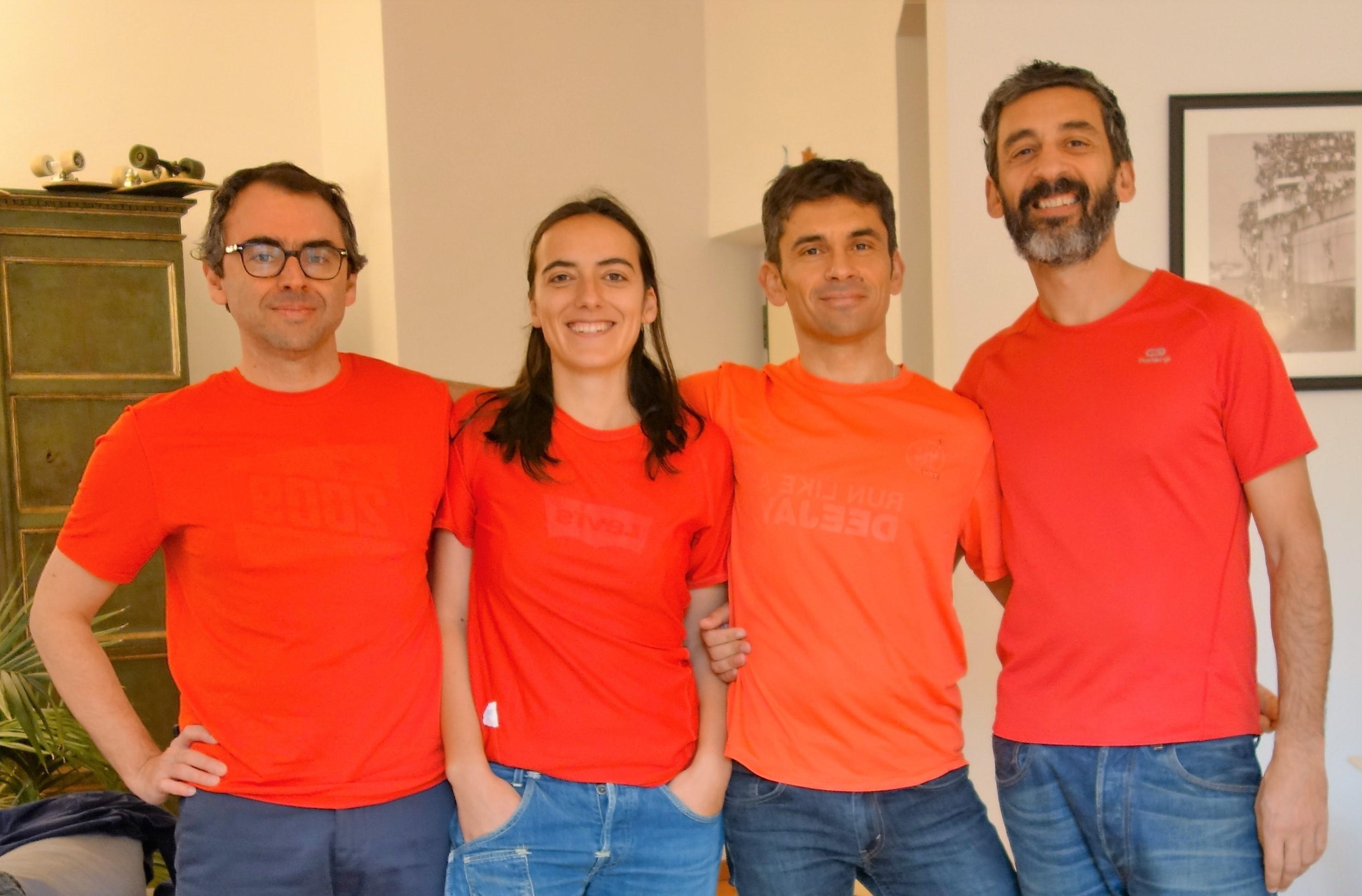 SuperGiovani per Dynamo Camp!-Caterina, Michele, Damiano e Filippo