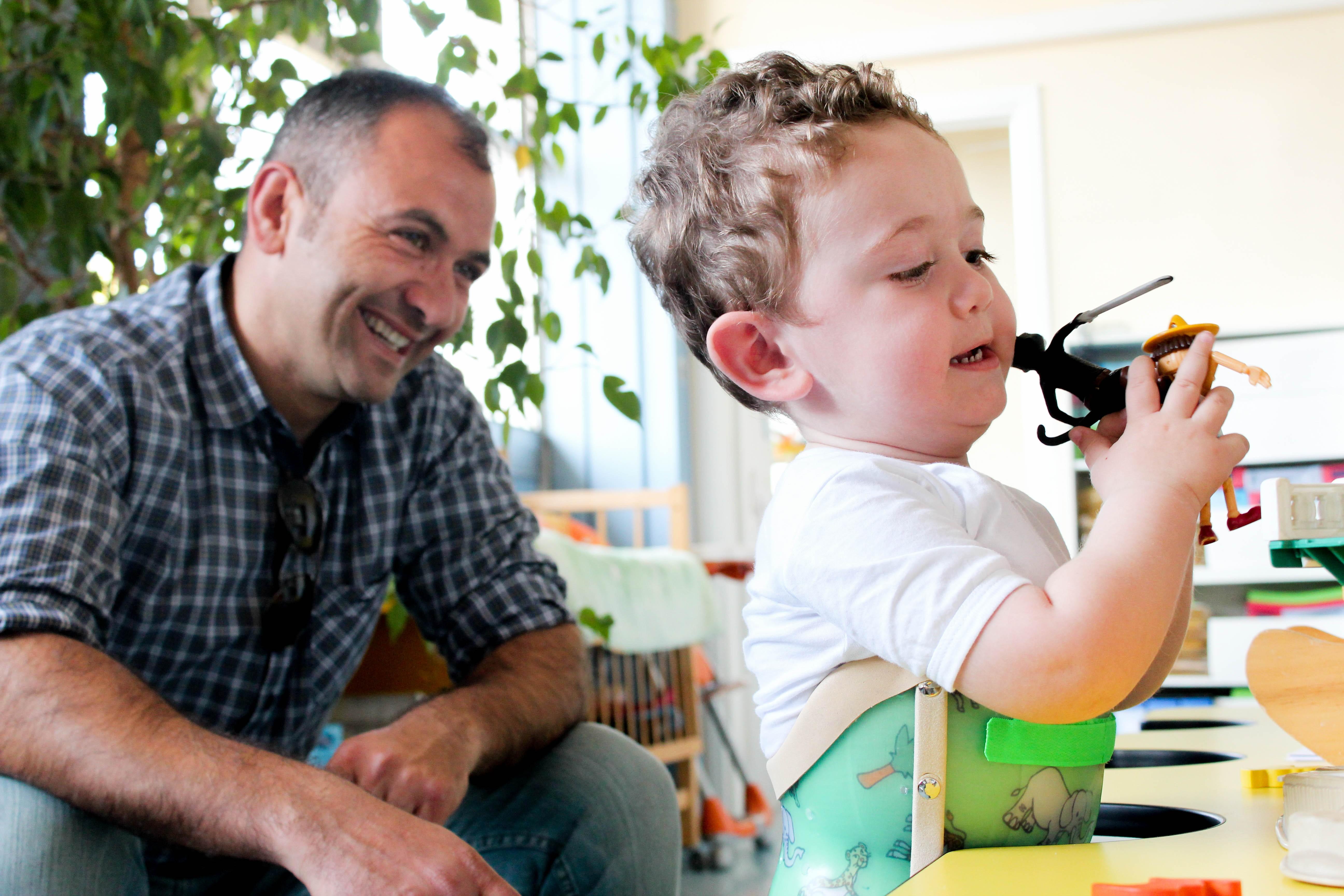 Un giorno da Ironman per donare sorrisi-Riccardo Costagliola di Polidoro