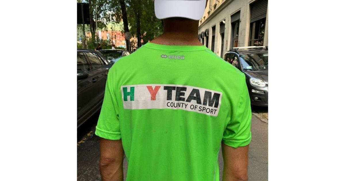 HEYTEAM, un IronMan per regalare sorrisi-Lorenzo Bassi