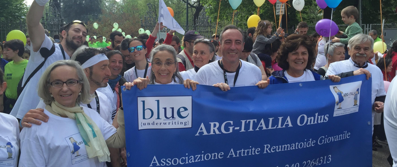 NOI CORRIAMO E DONIAMO per ARG-ITALIA-Paola  Rossi