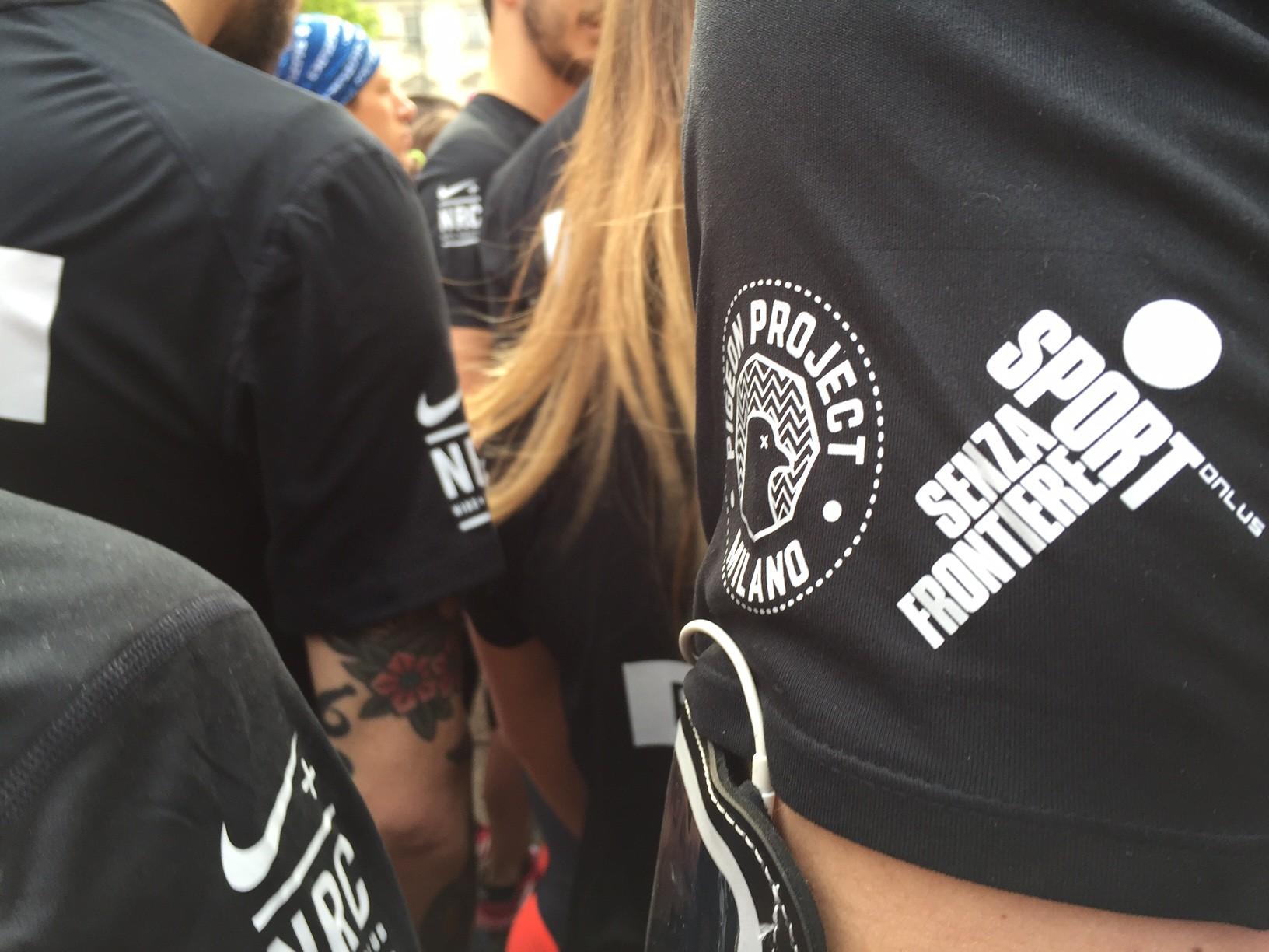 Raccolta fondi Milano Marathon 2018-Pigeon Project Milano