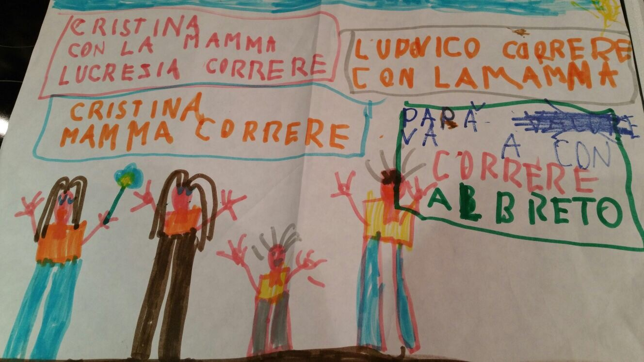 Annalisa, Cristina, Ilaria, Laura-Ilaria Villa