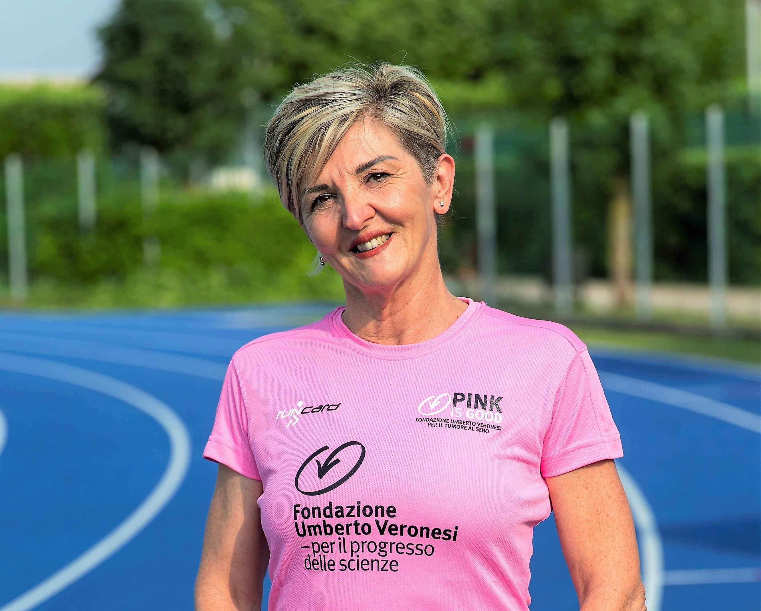 Corri con me per la prevenzione-Nadia Cazzola