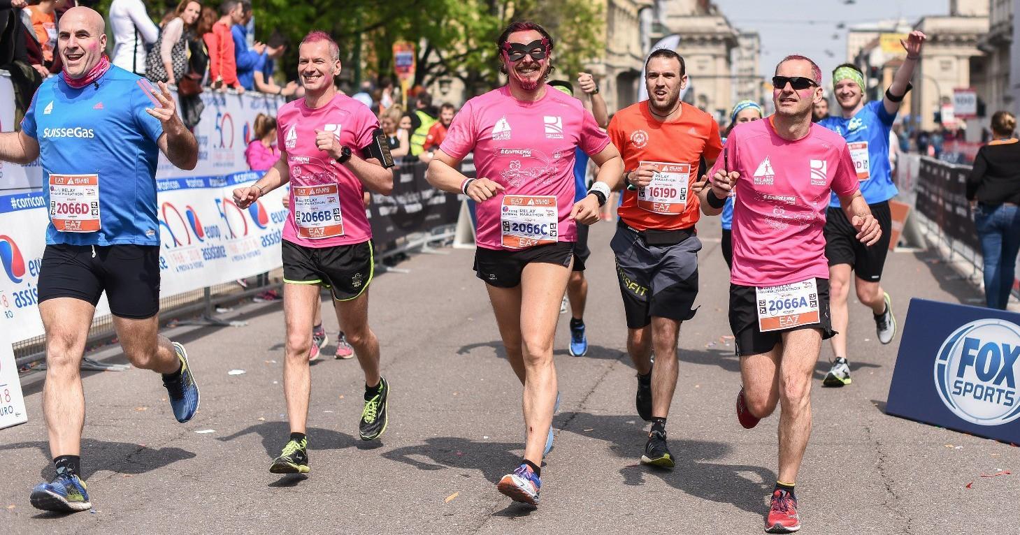 Quattro di corsa per il SAPRE-Davide Carafoli