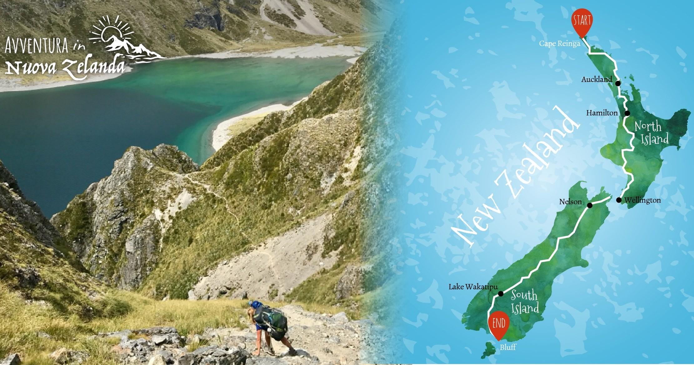Nuova Zelanda - 3000km di Colori-Giulio Testa