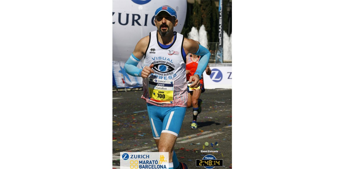 Gianni  per Spiragli di Luce-Gianni Giansante