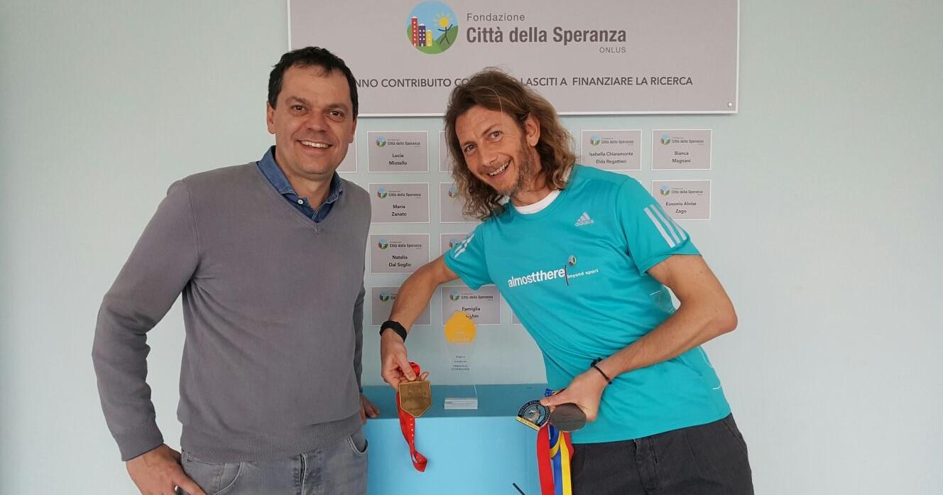RinCORRO progetti , DONIAMO SPERANZA!-Riccardo Trulla
