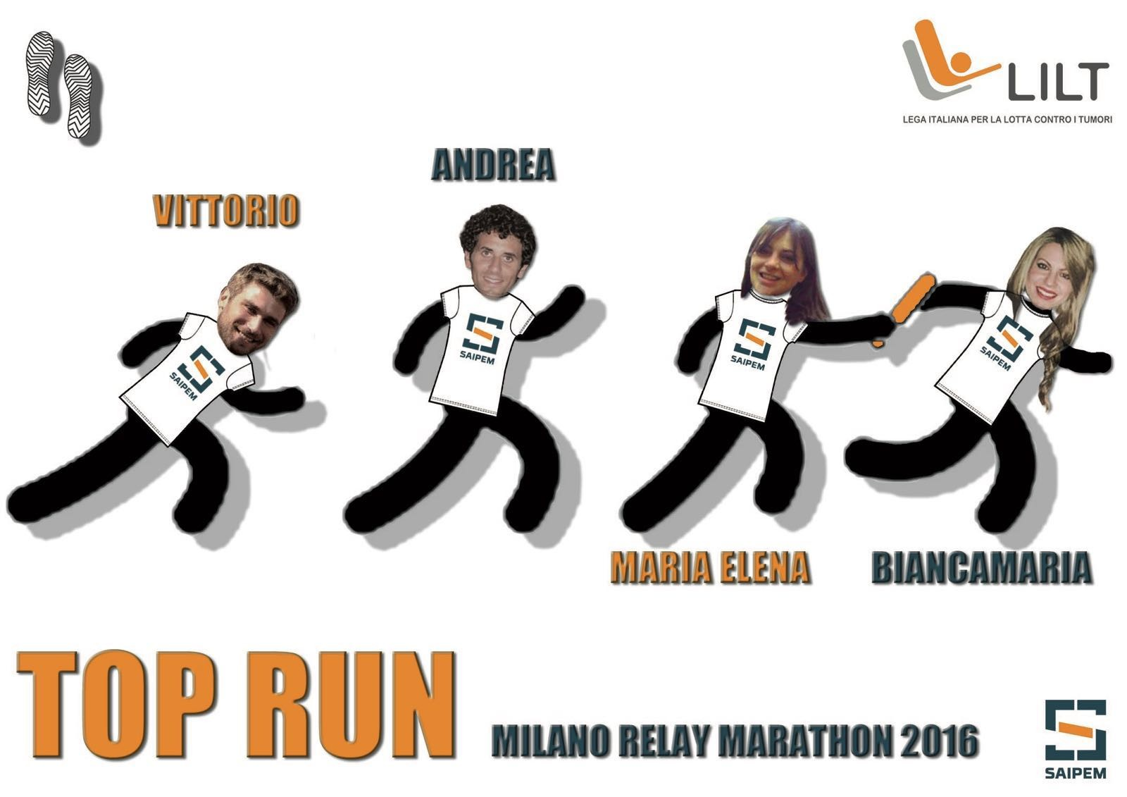 TOP RUN - FONDLHS-22-Vittorio, Maria Elena,  Andrea e Biancamaria